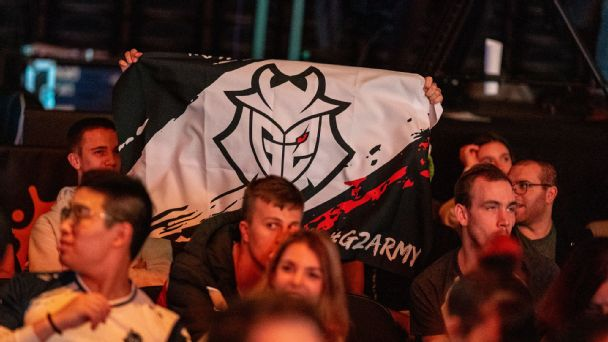G2 Esports fans are out in force.