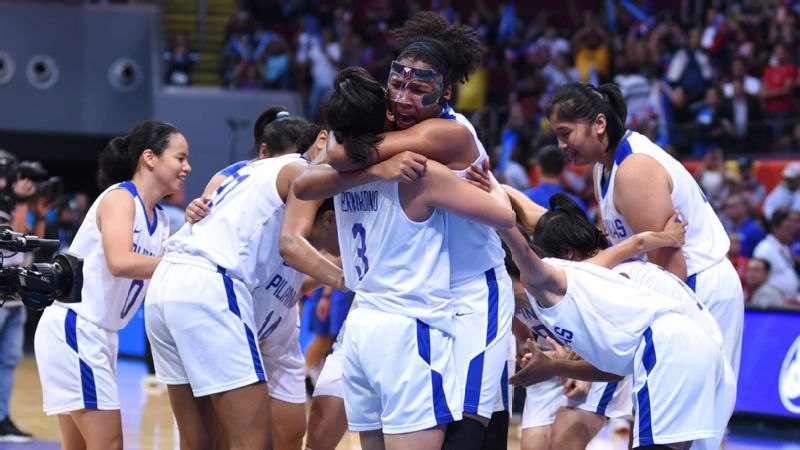 For the first time in history, the Philippines won a gold medal in the Southeast Asian Games women's basketball competition.