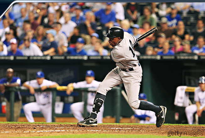 Granderson led the Yankees and set a career high with 41 home runs, second in baseball to Jose Bautista (43), and drove in an American League-best 119 runs, another career-high mark. He also scored a MLB-high 136 runs.