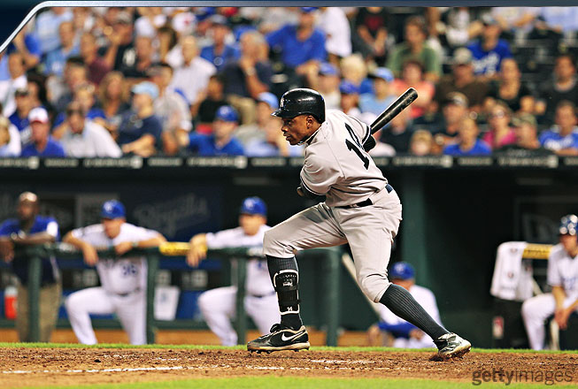 His most significant improvement came against left-handers. Once considered a liability with a southpaw on the mound, Granderson performed better against lefties (.944 OPS) than he did against righties (.902 OPS).