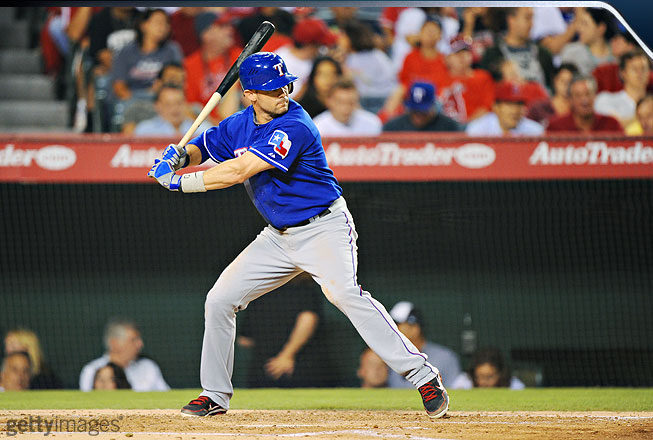 <b>DH/Infielder -- Texas Rangers</b><br />Young has been among the AL's most consistent hitters over the past decade, and examining his swing, you can see why. At the plate Young lowers his hands as he begins his foot placement.