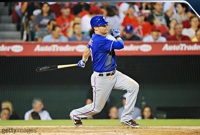 The 2011 season has been one of Young's best.  At age 34, he achieved the highest average of his career (.338) and led the American League in hits for the second time (213).
