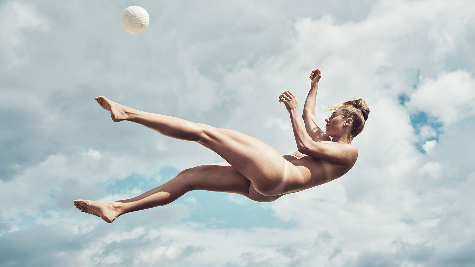 April Ross, Beach Volleyball, featured in the Body Issue 2016: Fully Exposed on ESPN the Magazine