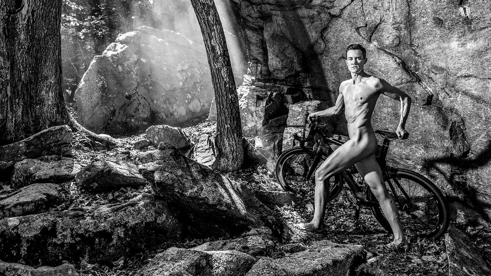 Chris Mosier, Triathlete, featured in the Body Issue 2016: Fully Exposed on ESPN the Magazine