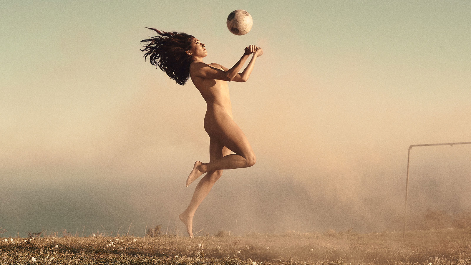 Christen Press, Soccer, featured in the Body Issue 2016: Fully Exposed on ESPN the Magazine