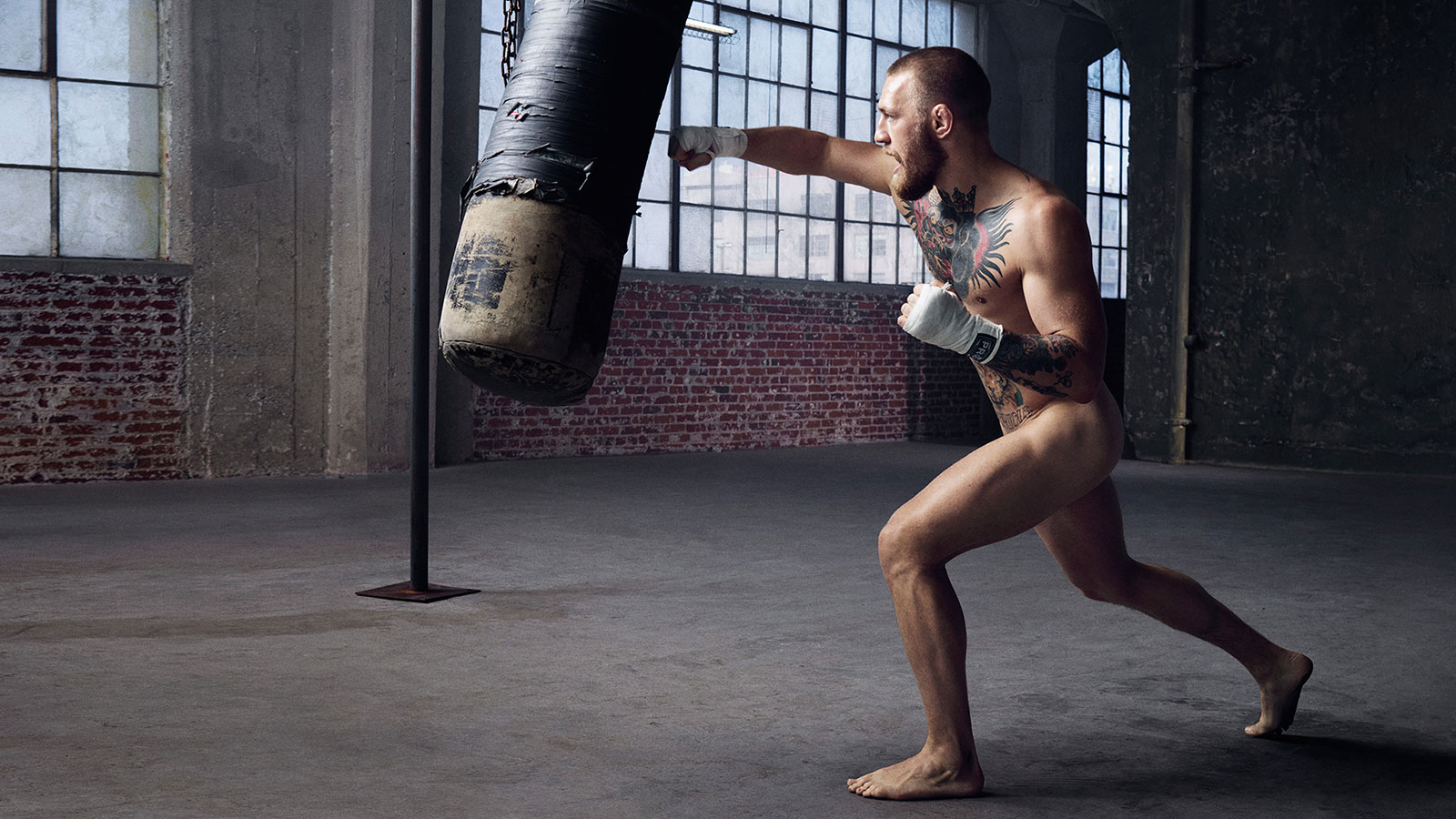 Conor McGregor, UFC, featured in the Body Issue 2016: Fully Exposed on ESPN the Magazine