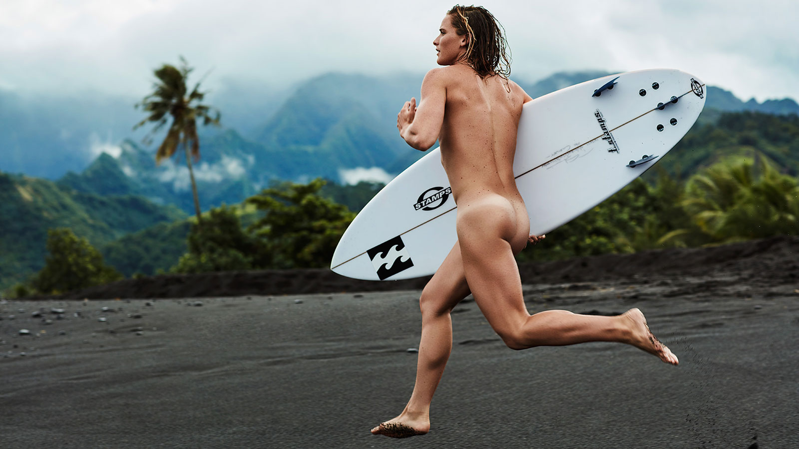 Courtney Conlogue, Surfing, featured in the Body Issue 2016: Fully Exposed on ESPN the Magazine