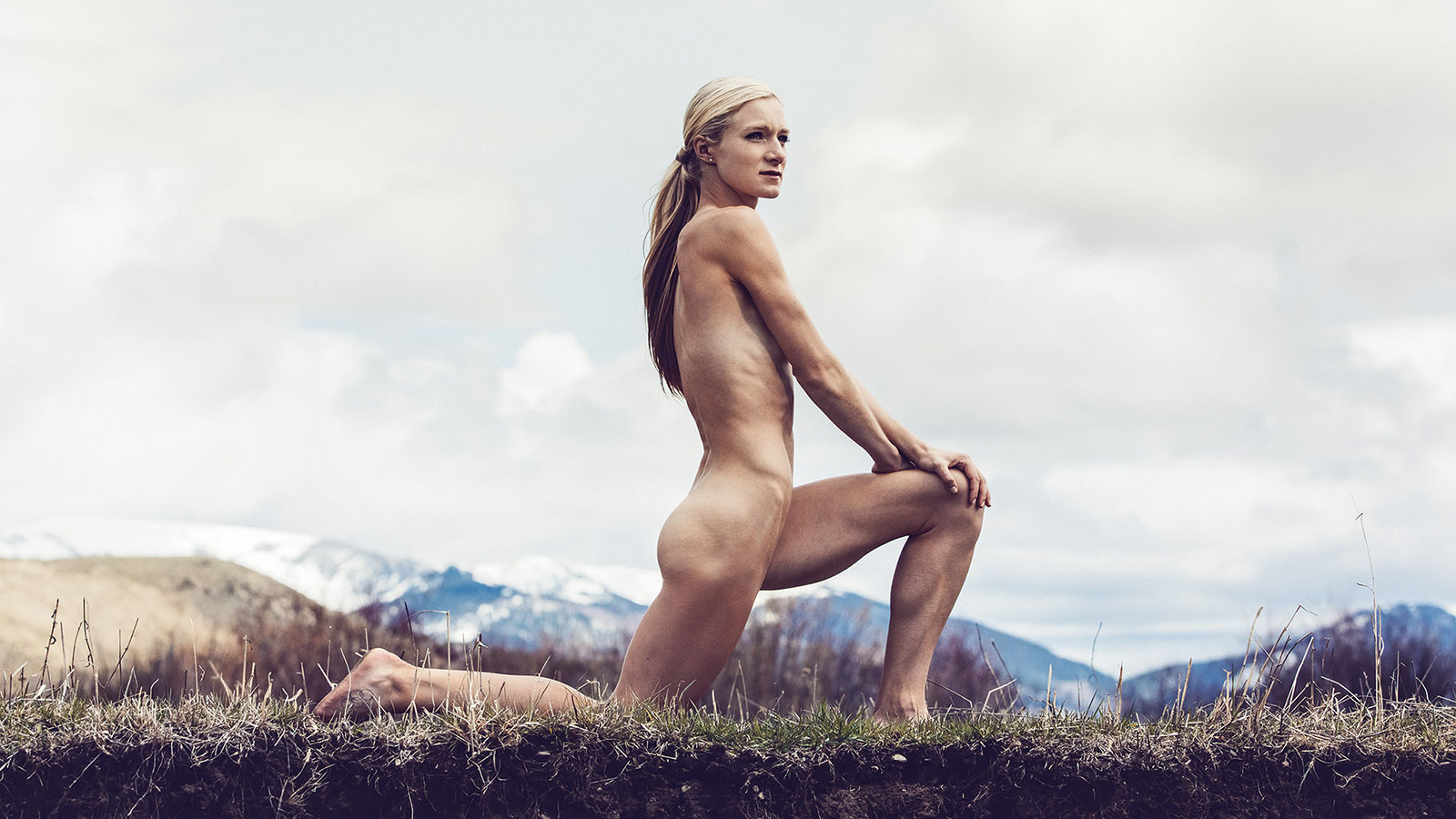Emma Coburn, Steeplechase, featured in the Body Issue 2016: Fully Exposed on ESPN the Magazine