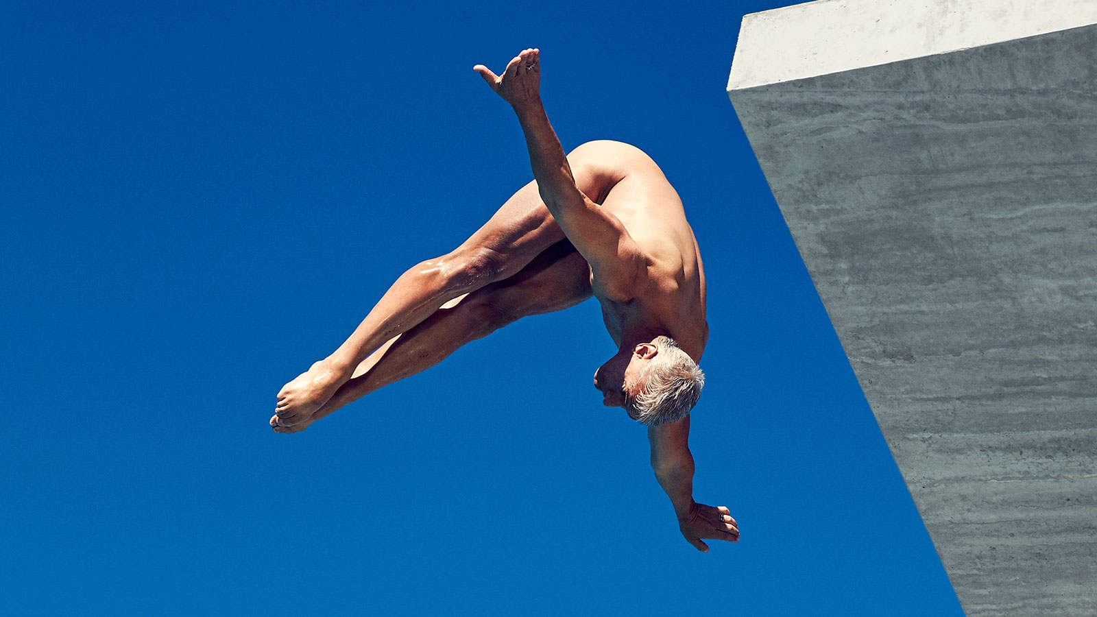 Greg Louganis, Diving, featured in the Body Issue 2016: Fully Exposed on ESPN the Magazine