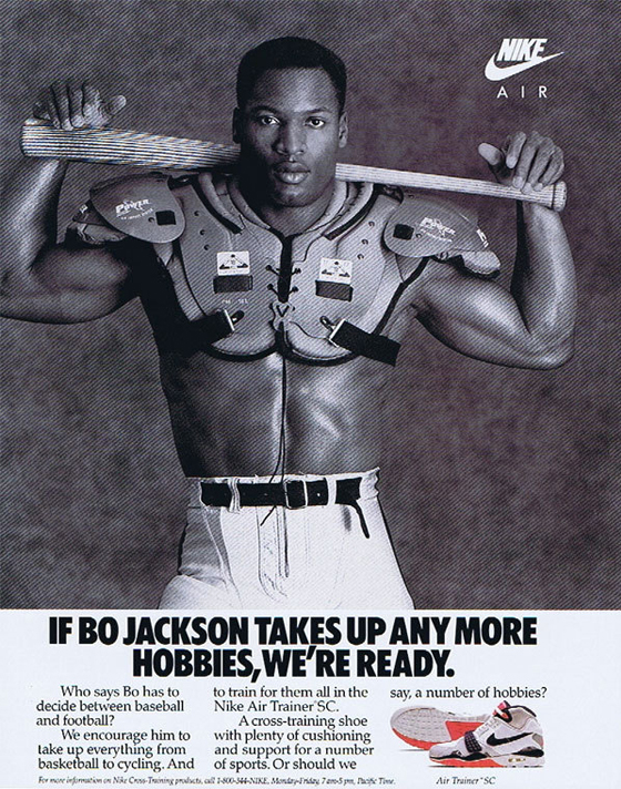 Bo Jackson took over the world 30 years ago with equal parts NFL, MLB, Nike, and Tecmo Bowl
