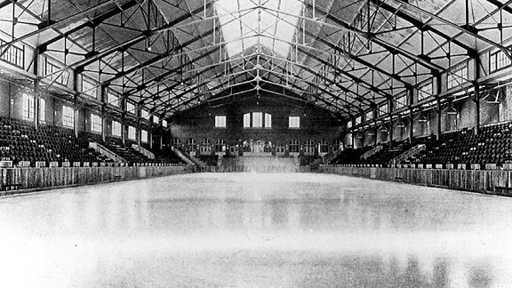 Oldest college hockey rinks