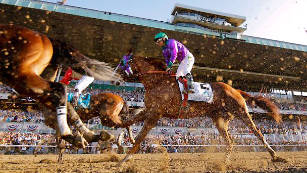 California Chrome finished the Belmont Stakes in a dead-heat for fourth.