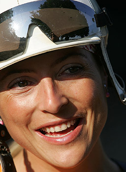 Retired jockey Chantal Sutherland