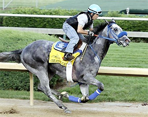 Creative Cause works at Churchill Downs.