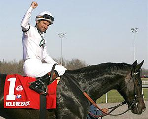 Hall of Fame jockey Kent Desormeaux