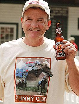 Saratoga fan Jim Myer.