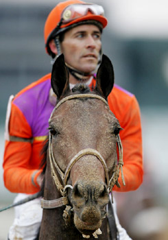 Hall of Fame jockey Gary Stevens
