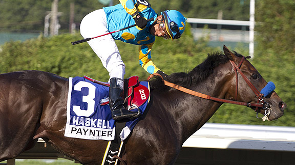 Paynter wins the 2012 Haskell Invitational.