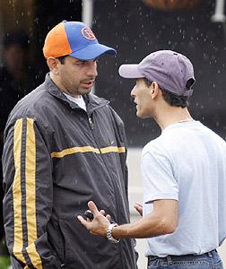 Owner Mike Repole and jockey John Velazquez