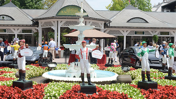 Historic Saratoga puts the focus back on horse racing for 40 days.