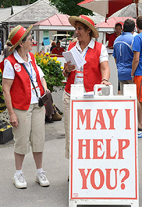 Saratoga Race Course staff