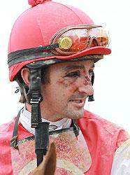 Jockey Robby Albarado