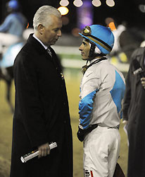 Trainer Pletcher and jockey John Velazquez discuss Life At Ten's trip in the 2010 Breeders' Cup Ladies' Classic at Churchill Downs.