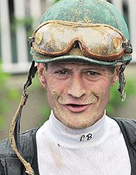 Jockey Calvin Borel