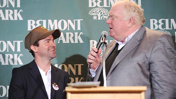Tom Durkin and Kent Desormeaux