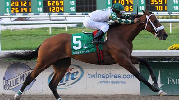 Mucho Macho Man looks to follow up his Risen Star victory at Fair Grounds with a win in Saturday's $1 million Louisiana Derby.