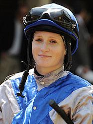 Jockey Rosie Napravnik