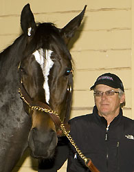 Zenyatta and Trainer John Shirreffs