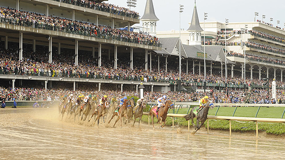 Eskendereya was the early favorite for Derby 136, but was ruled out before the draw.