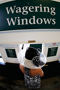 A betting window