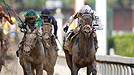 Super Saver and Calvin Borel win the Kentucky Derby at Churchill Downs on May 1, 2010