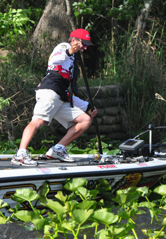 Bassmaster Elite Series Power-Pole Citrus Slam Edwin Evers