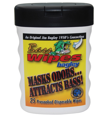 Bagley Bass Wipes