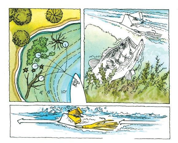 Escrito Análisis básico de los señuelos artificiales de agua dulce por: José Manuel López Pinto P2v_BMM_May09_Buzzbaits1