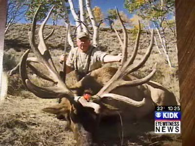 Hunter Denny Austad MossBack Outfitters world record elk boone and crockett