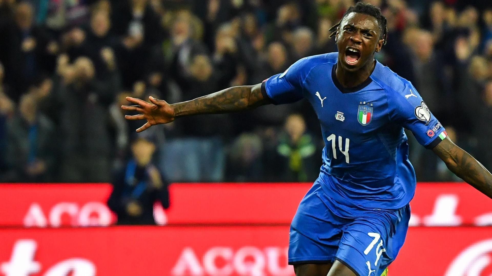 Ronaldo can help me break records - Italy's Juventus forward Kean 3