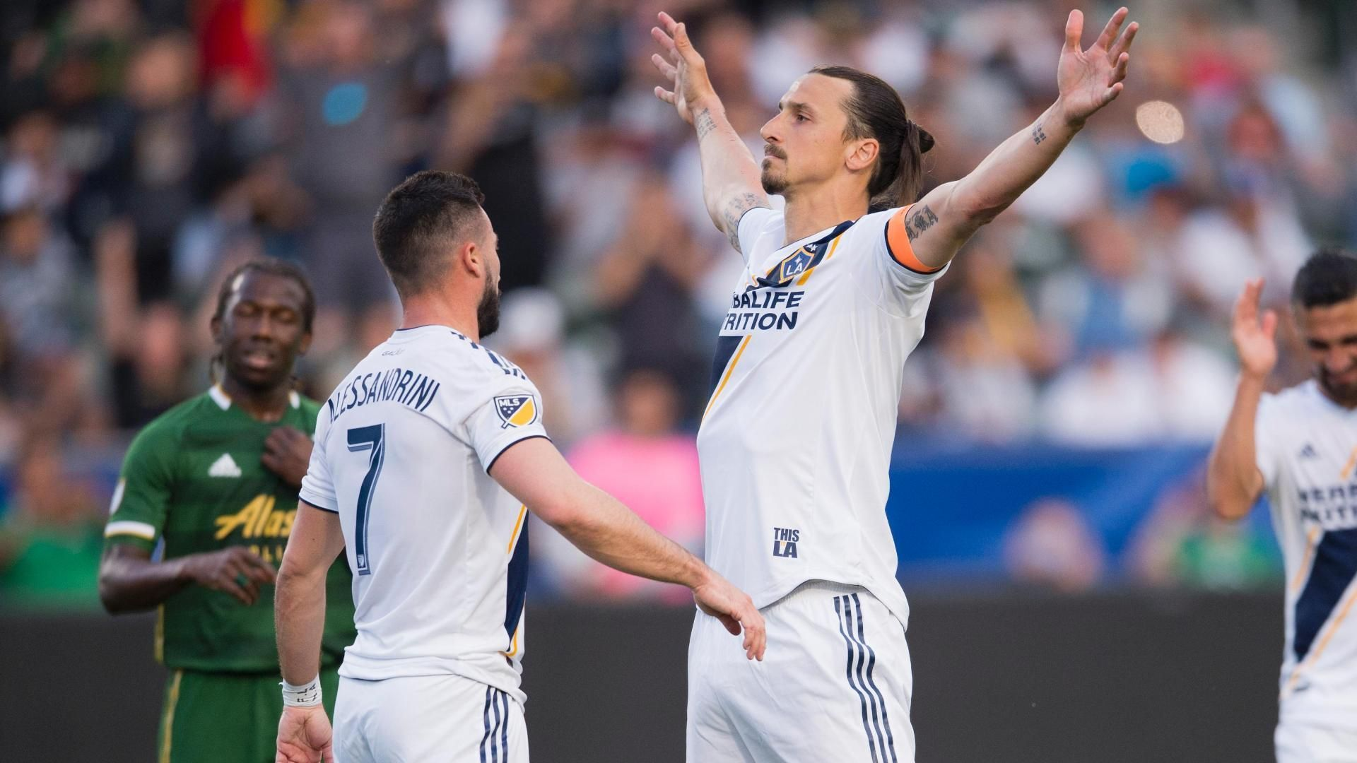 LA Galaxy's Ibrahimovic after brace - 'I promised my son three goals' 2