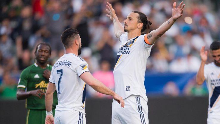 LA Galaxy's Ibrahimovic after brace - 'I promised my son three goals' 2
