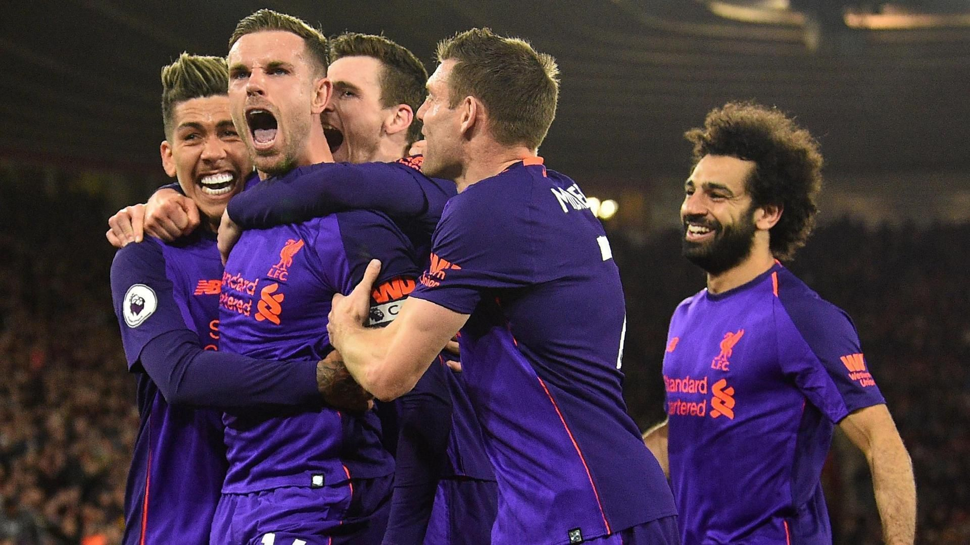 Salah calls 50th Premier League goal 'special' in Liverpool win 5