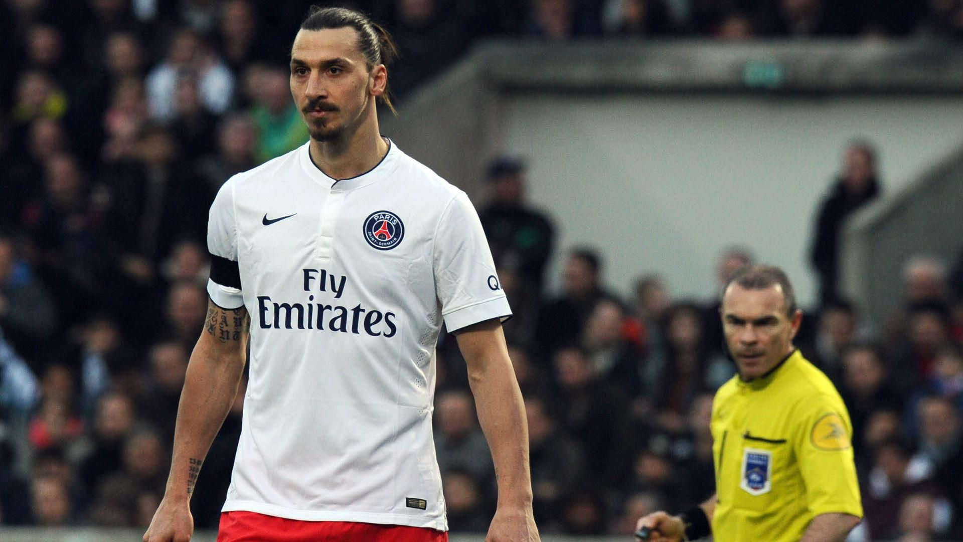 PSG's Zlatan Ibrahimovic suspended four games for comments to ref - ESPN FC