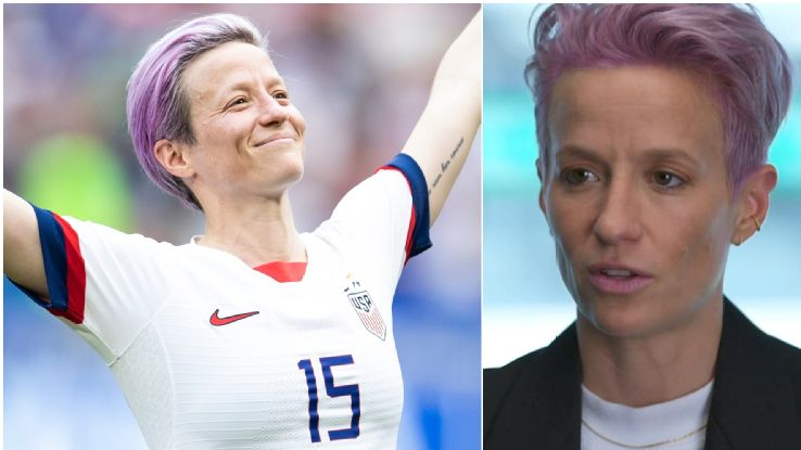 Rapinoe -- Any talks must start with equal pay 1