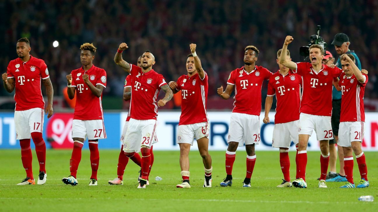 Bayern Munich lift DFB-Pokal Cup in Pep Guardiola's final ...