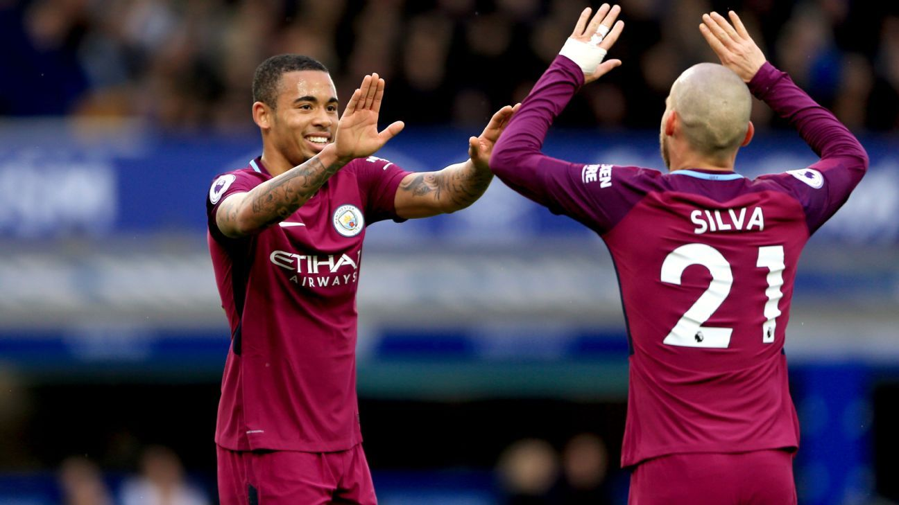 Gabriel Jesus' header was his first league goal since November.
