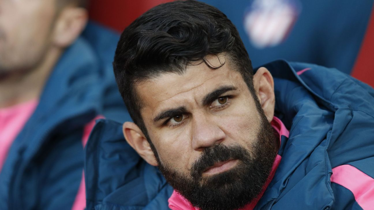 Injured Diego Costa figuress to be fit to play a vital role for Atletico in the second leg.