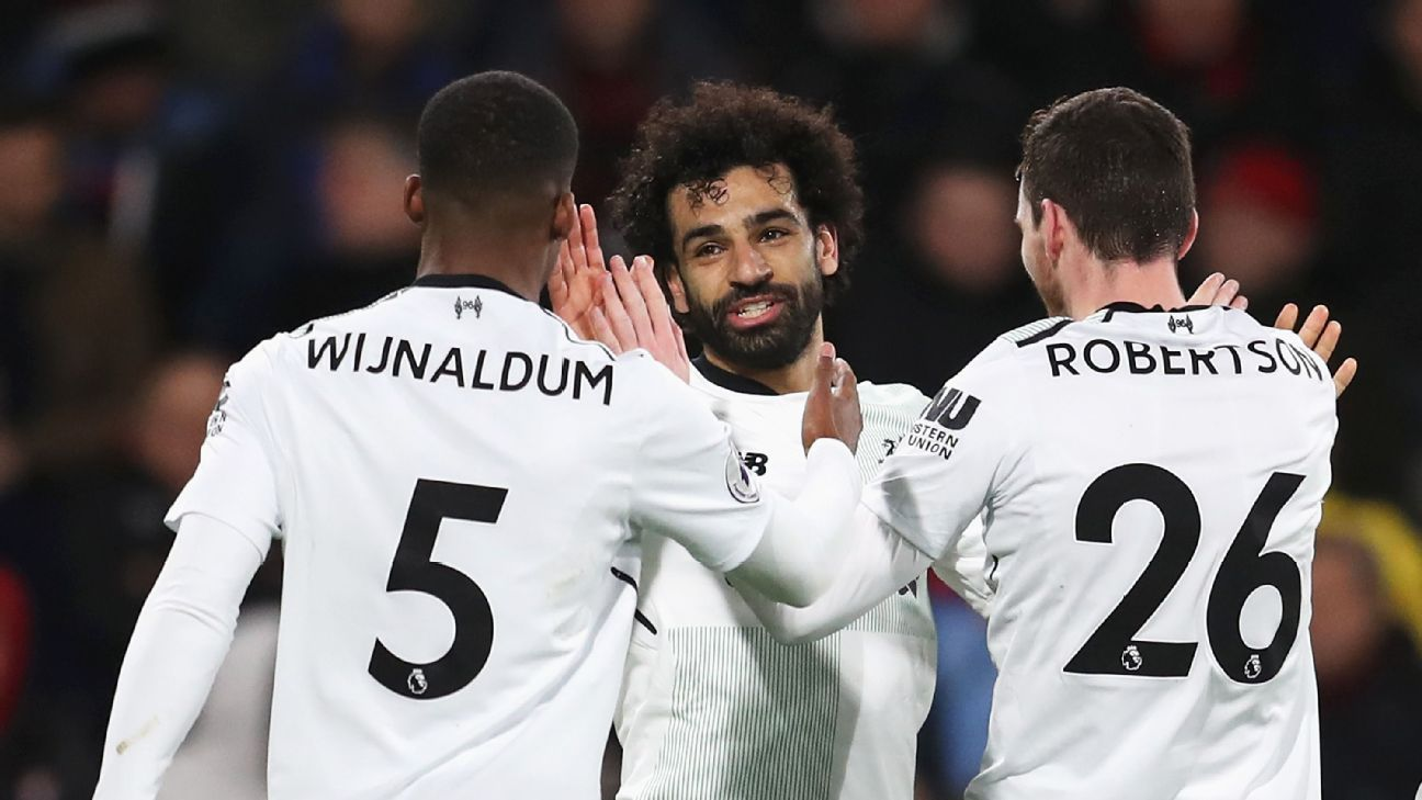 Mohamed Salah, Georginio Wijnaldum and Andrew Robertson have take unlikely paths to the Champions League final.