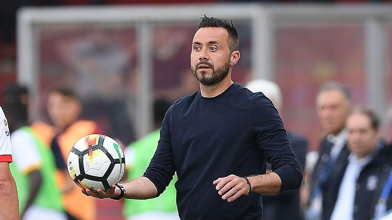 Sassuolo hire coach Roberto De Zerbi on two-year contract – GoalFootballNews